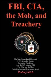 Cover of: FBI, CIA, the Mob, and Treachery