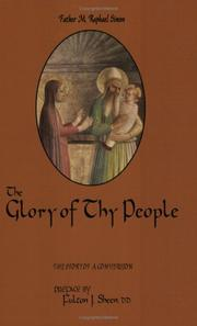 The glory of Thy people by Raphael Simon