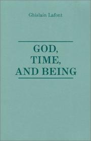 Cover of: God, time, and being