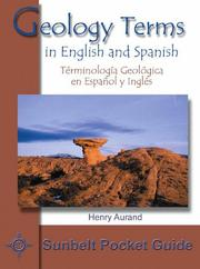 Cover of: Geology Terms in English and Spanish/Terminologia Geologica En Español E Ingles