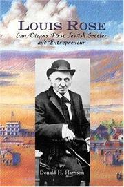 Cover of: Louis Rose, San Diego