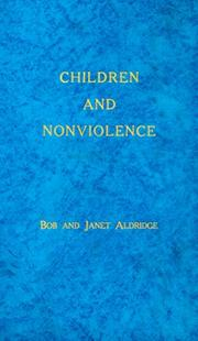 Cover of: Children and nonviolence