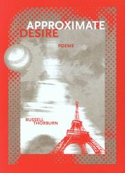 Cover of: Approximate desire