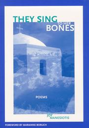 Cover of: They sing to her bones
