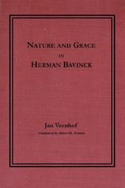 Cover of: Nature and Grace in Herman Bavinck | Jan Veenhof