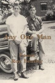 Cover of: Any One Man