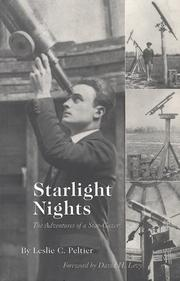 Cover of: Starlight nights | Leslie C. Peltier
