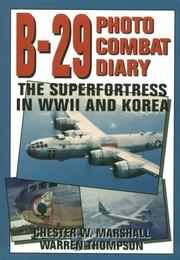 Cover of: B-29 photo combat diary