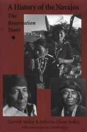Cover of: A history of the Navajos