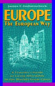 Cover of: Europe the European way