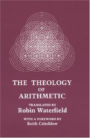 Cover of: The theology of arithmetic