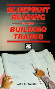 Cover of: Blueprint reading for the building trades