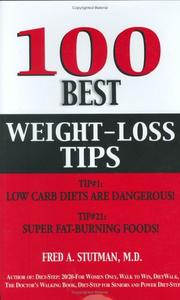 Cover of: 100 Best Weight-Loss Tips | Fred Stutman