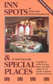 Cover of: Inn Spots And Special Places | Nancy Woodworth