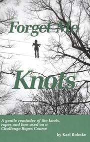 Cover of: Forget Me Knots