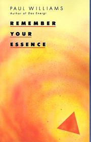 Cover of: Remember Your Essence