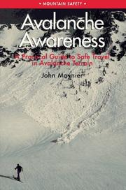 Cover of: Avalanche awareness