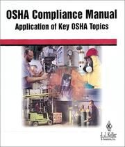 Cover of: OSHA Compliance Manual  | J.J. & Assoc Inc Staff Keller