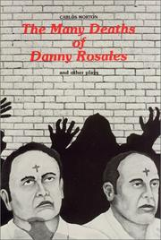 Cover of: The many deaths of Danny Rosales and other plays