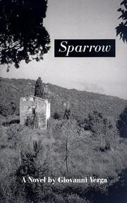 Cover of: Sparrow  | Giovanni Verga