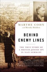 Behind enemy lines: the true story of a French Jewish spy in Nazi Germany