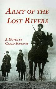 Cover of: Army of the lost rivers | Carlo Sgorlon