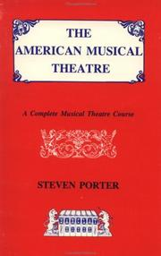 Cover of: The American musical theatre