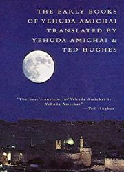 Cover of: The Early Books of Yehuda Amichai