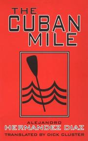 Cover of: The Cuban mile