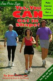 Cover of: Joan Price says, yes, you can get in shape! | Joan Price