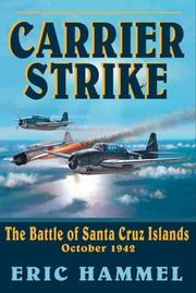 Cover of: Carrier Strike: The Battle of the Santa Cruz Islands, October 1942