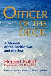 Cover of: Officer of the deck