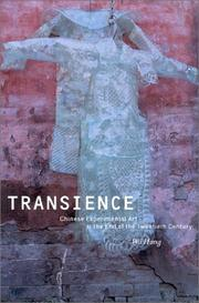 Cover of: Transience: Chinese experimental art at the end of the twentieth century