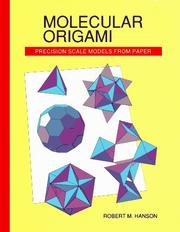 Cover of: Molecular origami