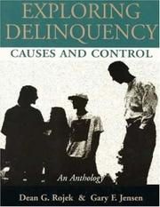 Cover of: Exploring Delinquency