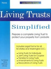 Cover of: Living trusts simplified