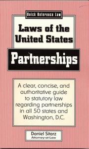 Cover of: Partnerships