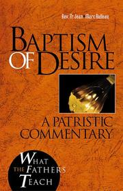 Cover of: Baptism of desire
