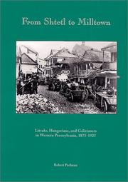 Cover of: From Shtetl to Milltown