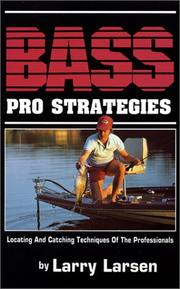 Cover of: Bass pro strategies