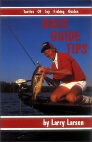 Cover of: Bass guide tips