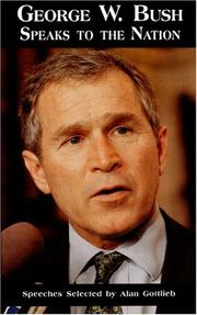Cover of: George W. Bush speaks to America
