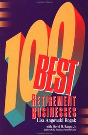 Cover of: 100 best retirement businesses