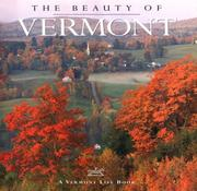 Cover of: The beauty of Vermont |