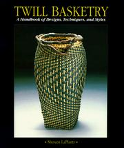Cover of: Twill basketry