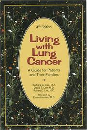 Living with lung cancer by Cox, Barbara G.
