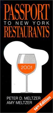 Passport to New York Restaurants 2001
