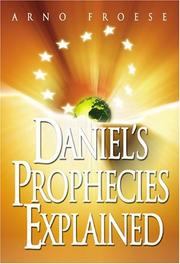 Cover of: Daniel's Prophecies Made Easy