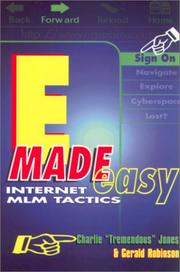 Cover of: E-made easy | Charles E. Jones