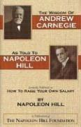 Cover of: The Wisdom of Andrew Carnegie as Told to Napoleon Hill